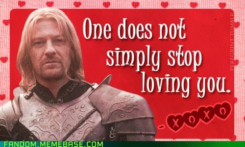 best of week Boromir Fan Art fandom Lord of the Rings mordor Valentines day - 5812510208