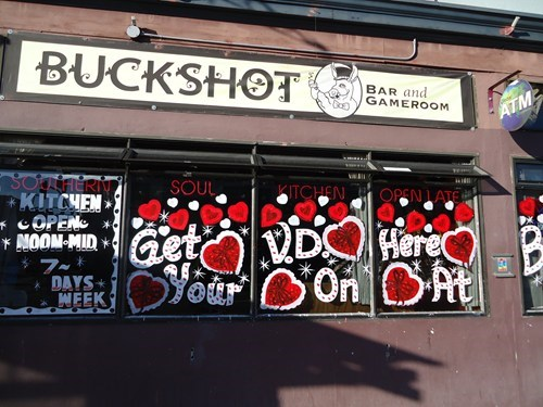 bar do not want STD Valentines day VD - 5812874240