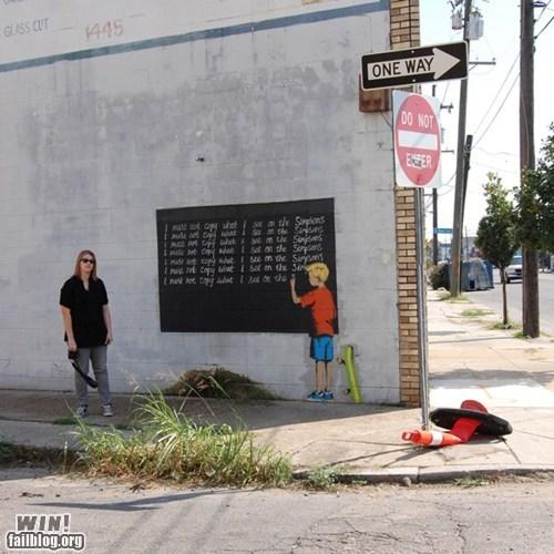 banksy graffiti hacked irl Street Art - 5812926464