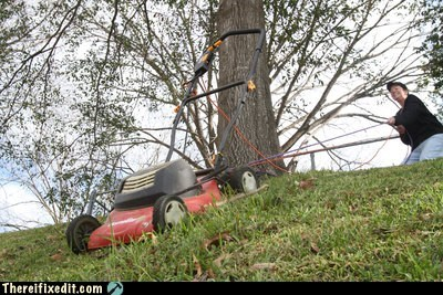 lawnmower,rope,wtf,yardwork
