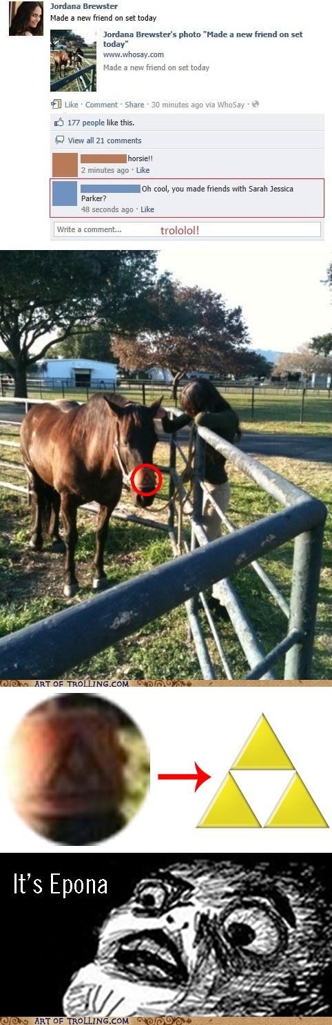 epona,facebook,horse,Reframe,sarah jessica parker