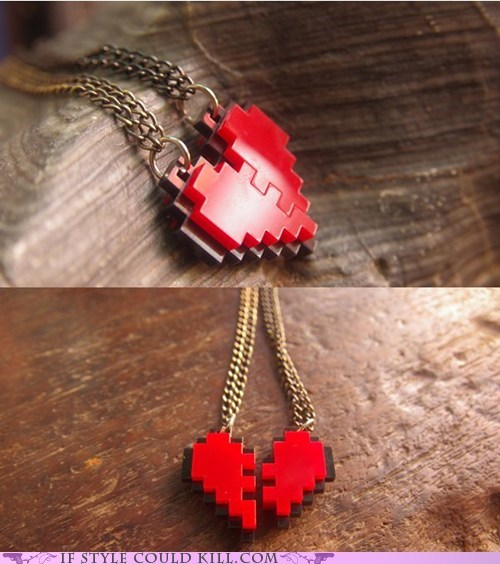cool accessories,heart,necklaces,Valentines day