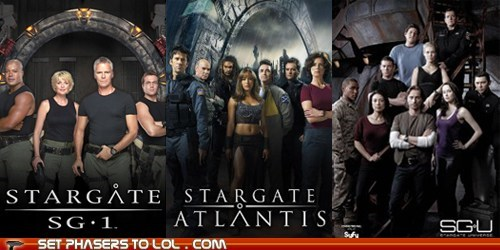 Battle cancelled missed poll showdown Stargate stargate atlantis Stargate SG-1 stargate universe tv shows - 5813208832