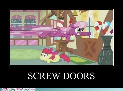 apple bloom cheerilee screw doors TV - 5813241856