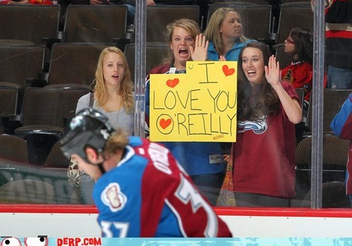 derp fan girls favorite hockey sports - 5813303040