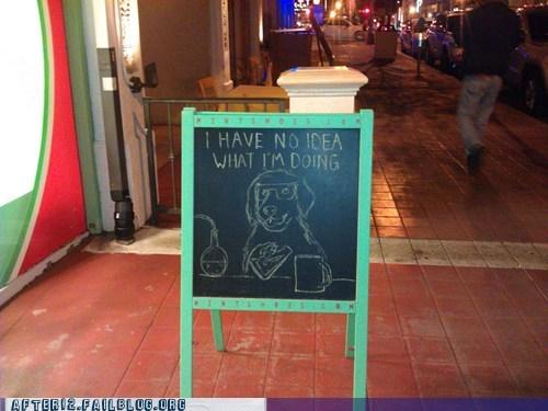 bar bartender i have no idea pub sign - 5813343232
