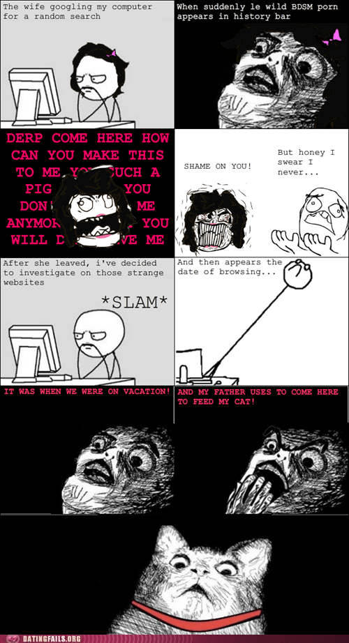 Cats internet pr0n rage comic shameless self-promotion