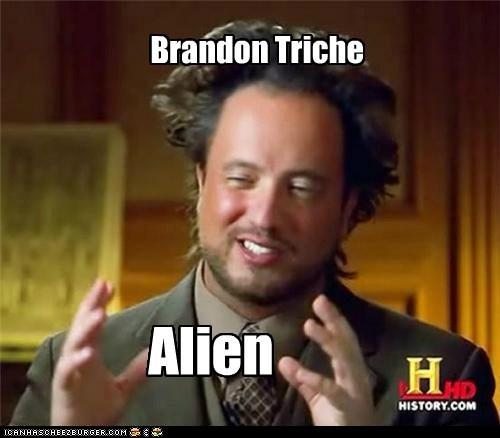 Brandon Triche Alien