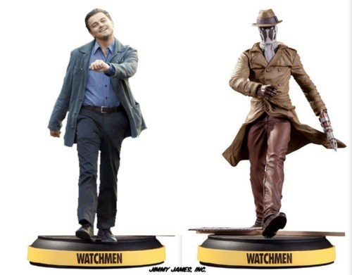 before watchmen DC Inception leonardo dicaprio rorschach strutting leo superheroes Toyz - 5813572352