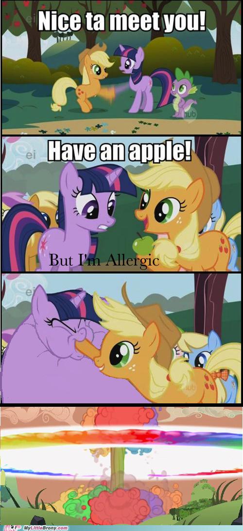 Alternate Ending apple comic comics explosion - 5813893632
