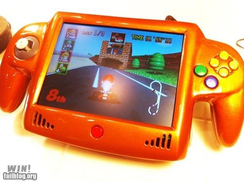 g rated Mario Kart nerdgasm nintendo 64 nostalgia portable video games win - 5814046976