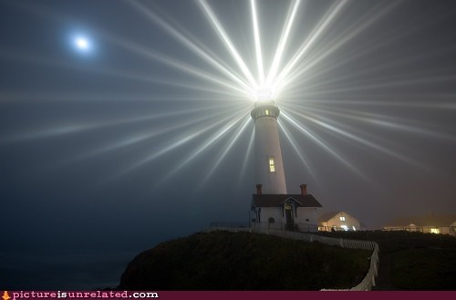 Lighthouses can be awesome...