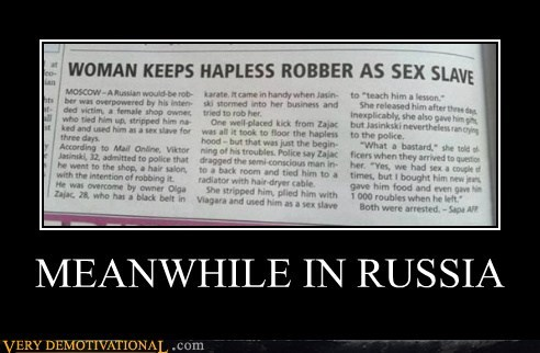 hapless hilarious robber sexy times wtf - 5814358272