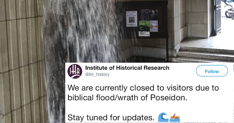 twitter ridiculous reaction dangerous dramatic flood - 5814533