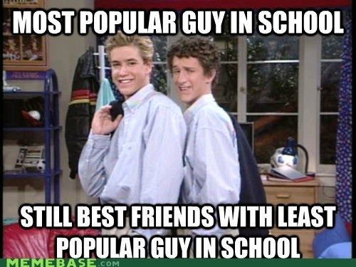 Good Guy Greg high school popular saved by the bell Screech zack - 5815398912