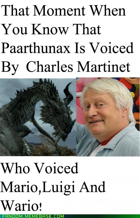 It Came From the Interwebz paarthunax Super Mario bros video games voice actor - 5815588352