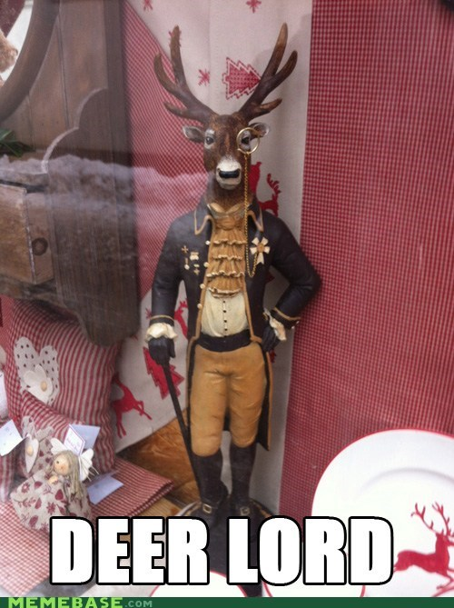 deer god lord Memes puns - 5815616768