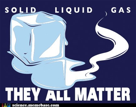 gas liquid matter physics solid T.Shirt - 5815694592