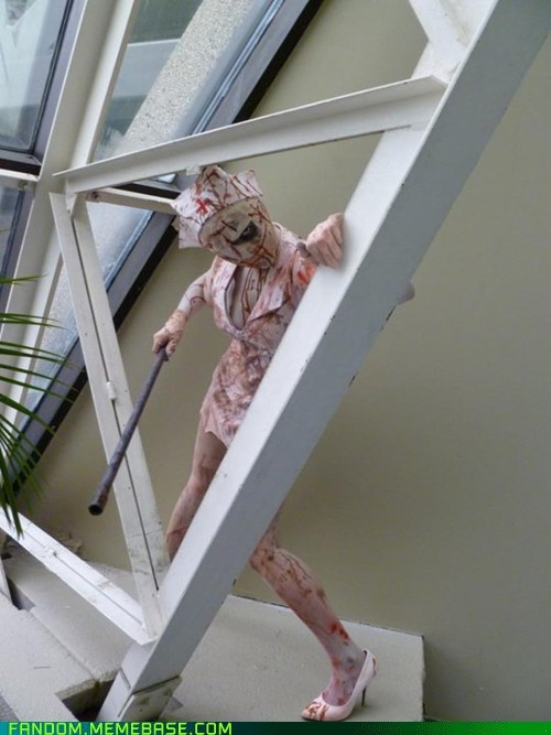 cosplay nurse silent hill video games - 5815775488