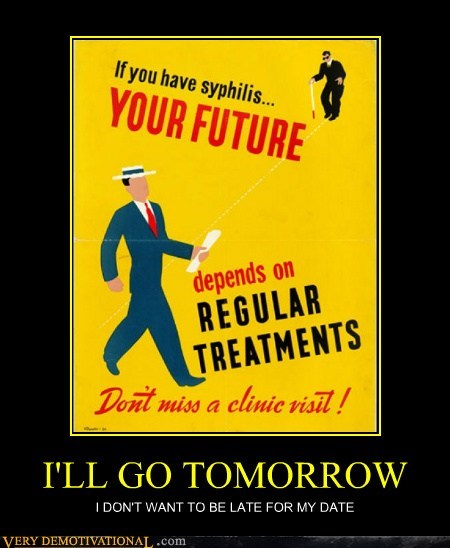 Ad hilarious syphilis tomorrow wtf - 5815943680