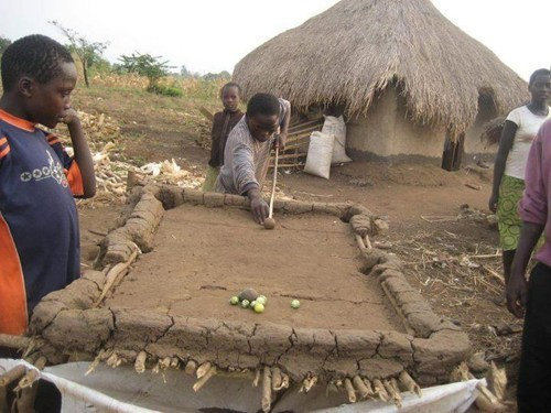 africa g rated neat pool table there I fixed it - 5816224256