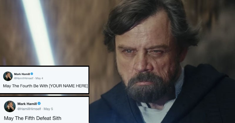 twitter star wars ridiculous funny Mark Hamill - 5816325