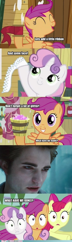 best of week glitter ponies twilight vampire - 5816410368