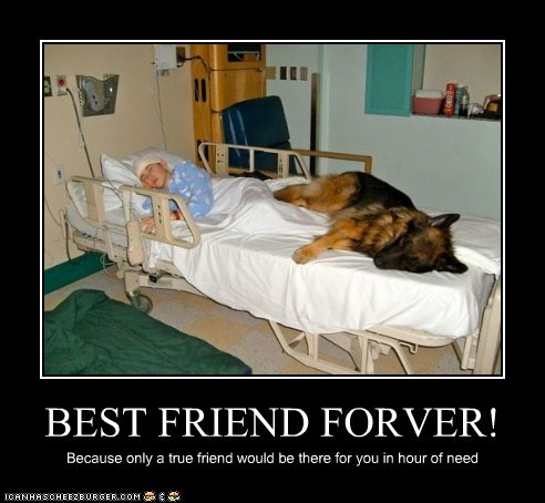 BEST FRIEND FORVER! Because only a true friend would be there for you in hour of need