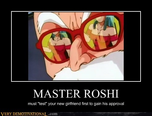 Dragon Ball Z,hilarious,master roshi,Sexy Ladies
