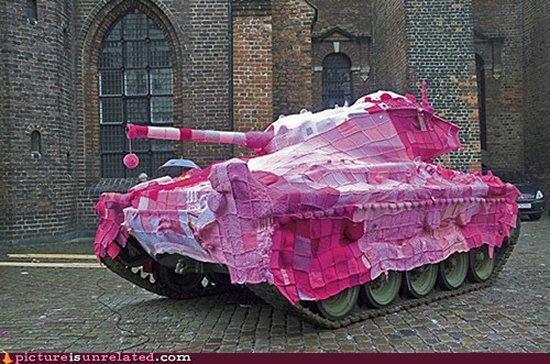army granny pink quilting tank wtf - 5816854272