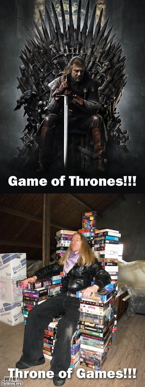 clever Game of Thrones nerdgasm wordplay - 5817100544