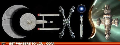 best of the week,bumper sticker,coexist,Death Star,doctor who,farscape,Firefly,serenity,sonic screwdriver,Star Trek,star wars,Stargate