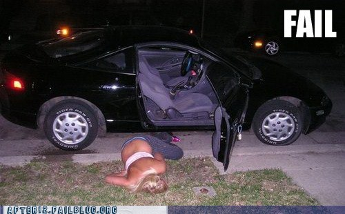 drunk,drunk driving,lawn,passed out,woo girls,yard
