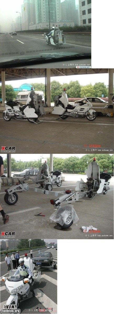 bike design driving motorcycle towing