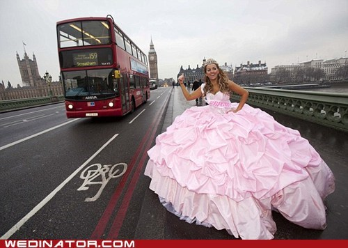 funny wedding photos,London,My Big Fat Gypsy Wedding