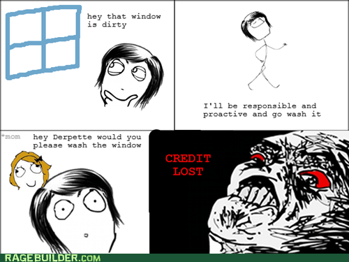 cleaning,Rage Comics,raisin rage,responsible