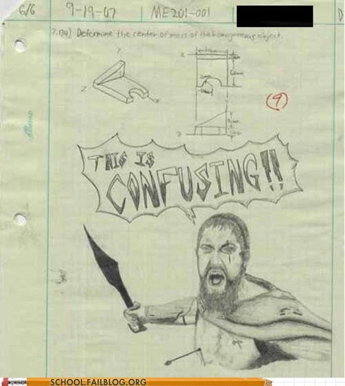 300 doodle drawing g rated School of FAIL this is sparta worksheet - 5818457088