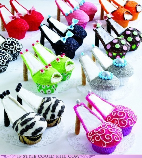 best of the week crazy shoes cupcakes dessert food heels - 5818459136