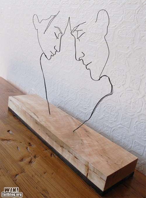 art design minimal portrait wire - 5818484736