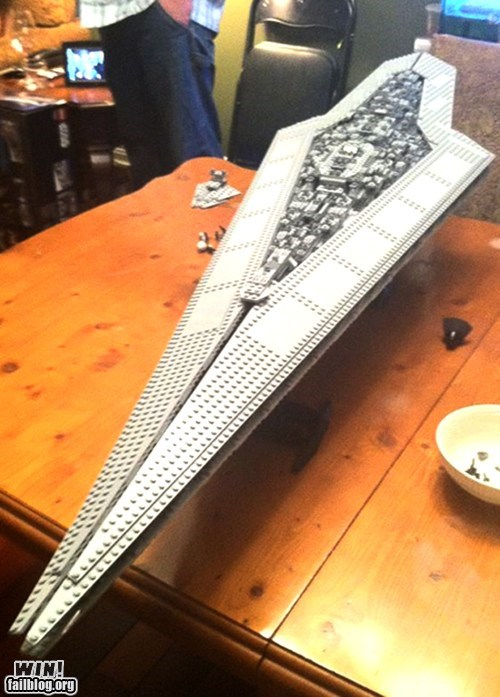 g rated,lego,model,nerdgasm,star destroyer,star wars,toy,win