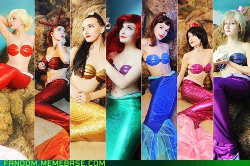 ariel,best of week,cosplay,disney,disney princess,mermaids,The Little Mermaid