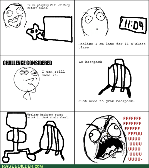 fu guy Rage Comics truancy story video games - 5818720512