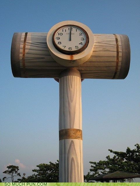 cant-touch-this clock double meaning hammer hammer time literalism mc hammer shape time - 5818723840