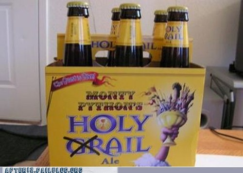 ale beer monty python six pack - 5819420416