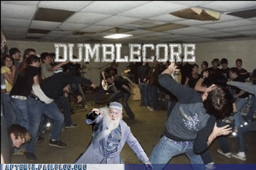 dance floor dancing dubstep dumbledore hardcore Harry Potter - 5819421696