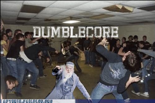 dance floor dancing dubstep dumbledore hardcore Harry Potter - 5819421696