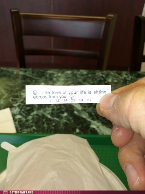 forever alone fortune cookie true love - 5819438336