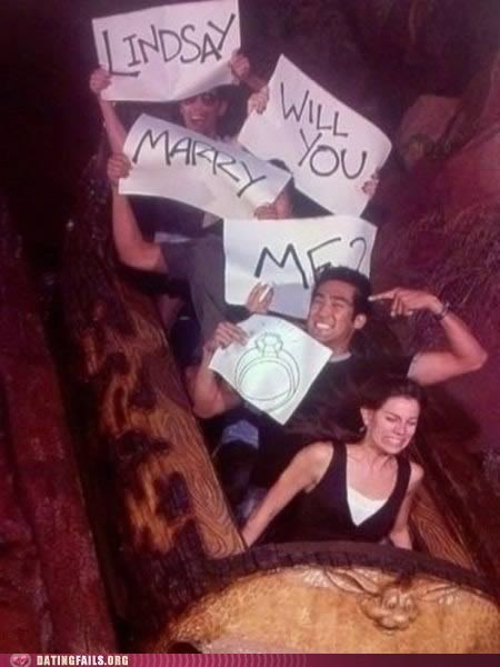 marry me proposals splash mountain