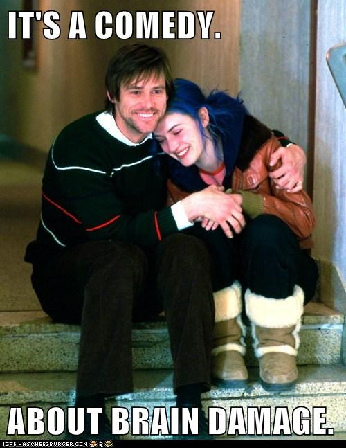 actor eternal sunshine funny jim carrey kate winslet Movie - 5820160000