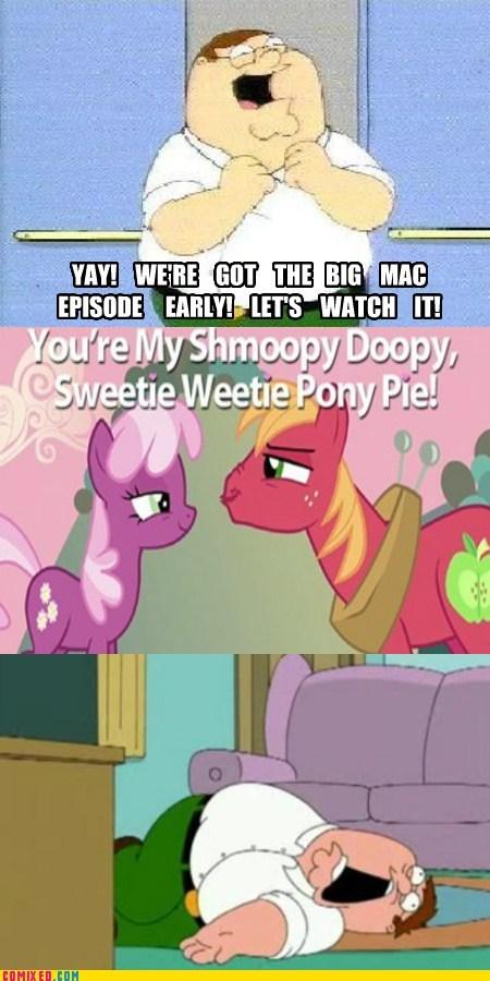 big mac cheerilee comics family guy shipping shmoopy doopy - 5820222976